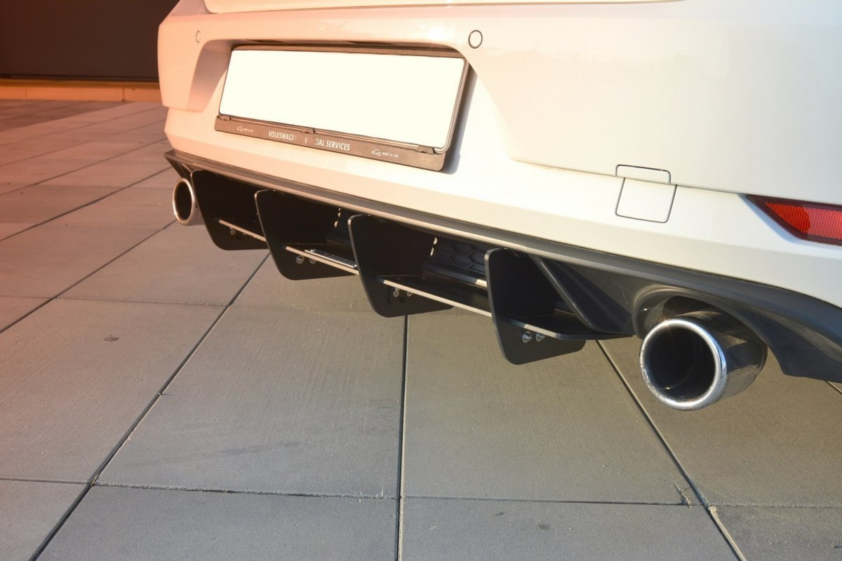 Dyfuzor Tylny VW Golf 7 GTI Facelift - GRUBYGARAGE - Sklep Tuningowy